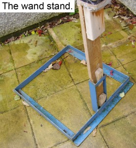 The wand stand.